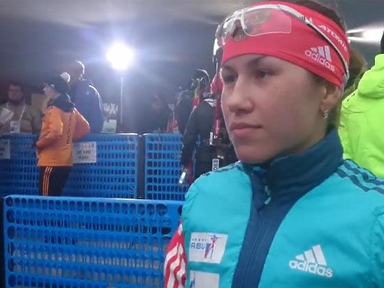 Биатлон, спринт в Антерсельве: Надежды девушек питают