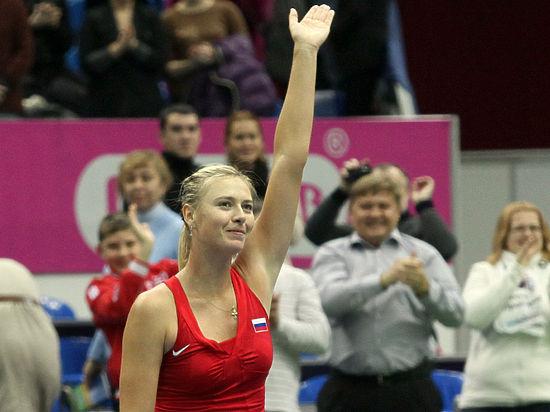 Мария Шарапова вышла в полуфинал Australian Open, послушав папу