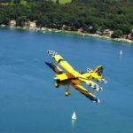 Заказать самолёт WACO YMF-5D Super для перелета на спортивное мероприятие